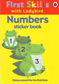 Numbers Sticker Book image