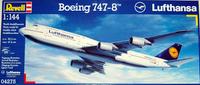 Revell Boeing 747-800 Lufthansa 1/144 Model Kit