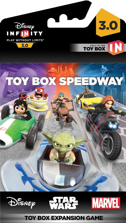 Disney Toy 3 Games : Disney infinity toy box game piece package kart