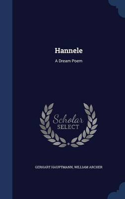 Hannele by Gerhart Hauptmann