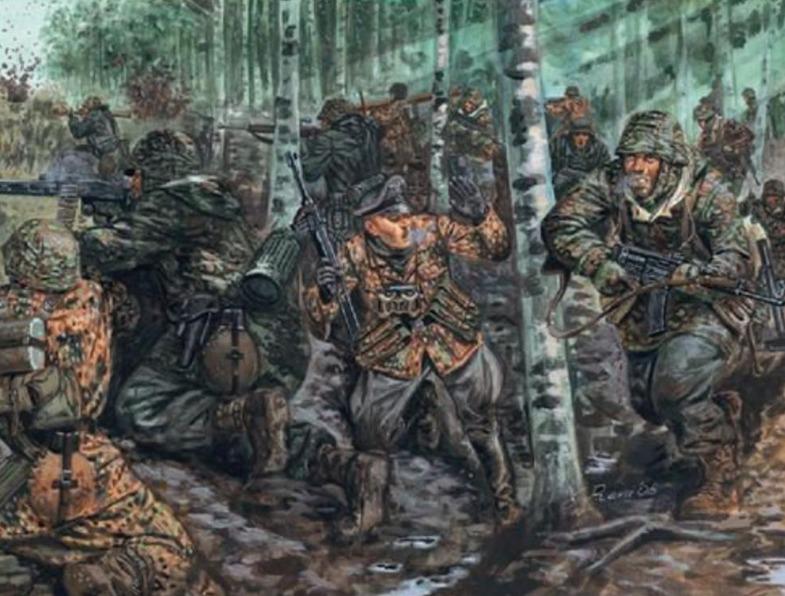Italeri: 1/32 WW2 German Elite Troops - Model Kit