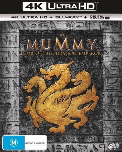 The Mummy - Tomb Of The Dragon Emperor on Blu-ray, UHD Blu-ray