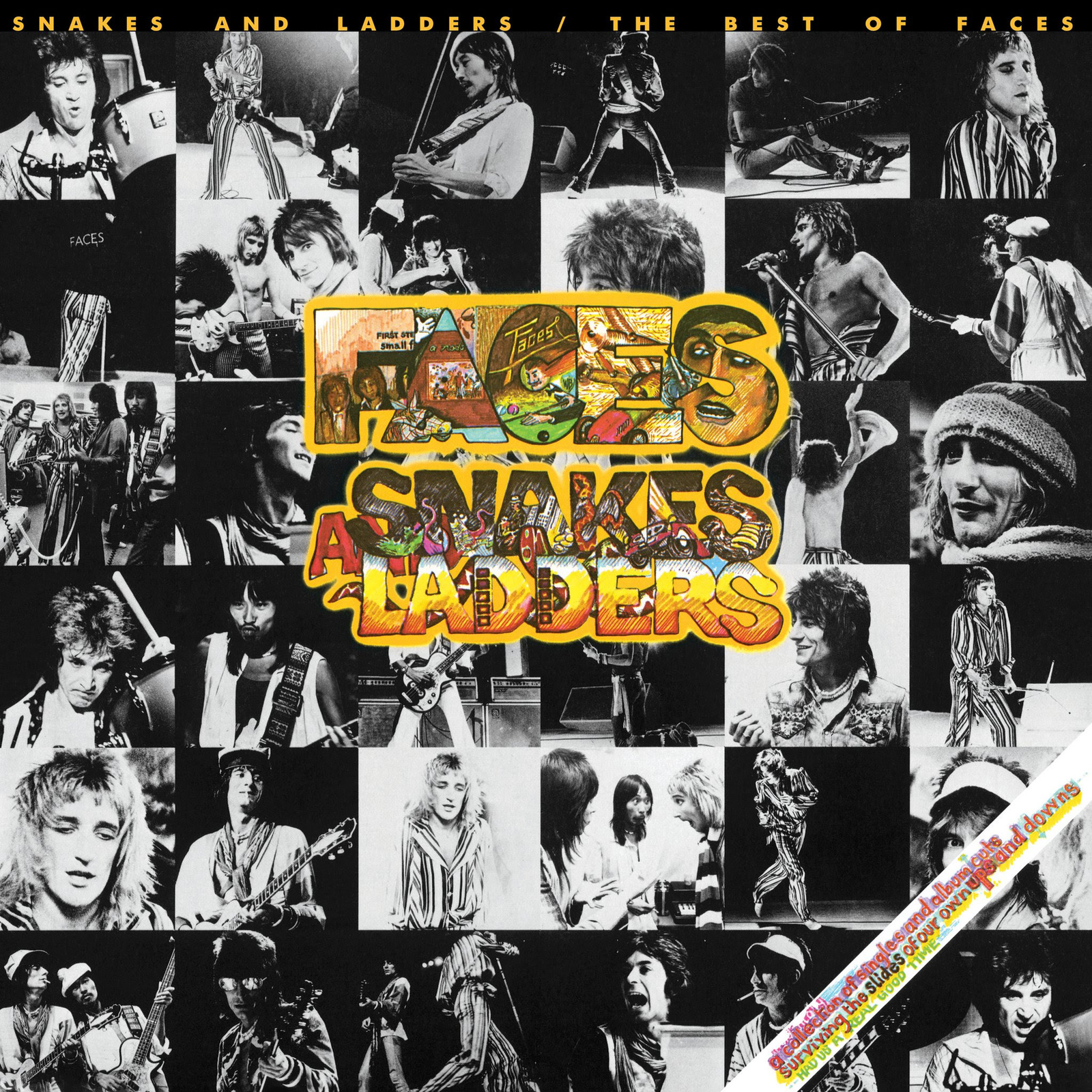 Snakes and Ladders / The Best of the Faces (LP) by Faces image