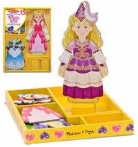 Melissa & Doug: Princess Elise Magnetic Wooden Dress-Up image