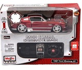 Maisto Tech R/C Car - 1/24 Ford Mustang GT 1967