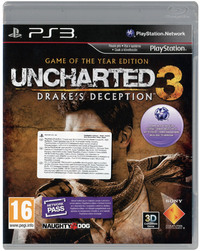 Uncharted 3: Drake's Deception Game of the Year Edition (Import) for PS3
