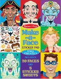 Melissa & Doug: Make-a-Face Stickers Pad Crazy Characters