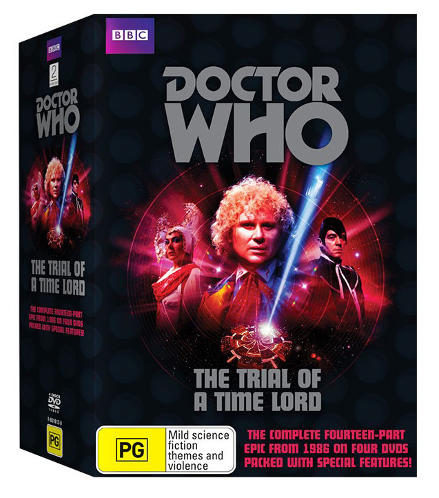 Warriors The New Prophecy Set The Complete Second Series: Doctor Who Trial Of A Time Lord Box Set