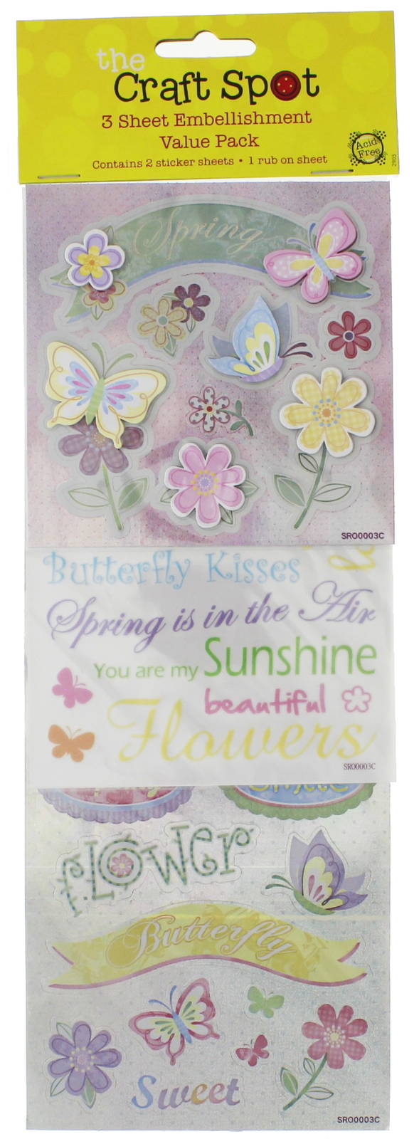 The Craft Spot Embellishment Kit - Spring