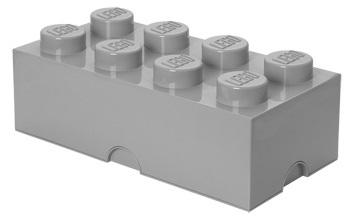 Lego: Storage Designer 8 Brick - Stone Grey
