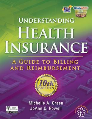 Understanding Health Insurance: A Guide to Billing and Reimbursement by Jo Ann C Rowell image