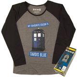Doctor Who Long Sleeve Tardis T-Shirt (Small)