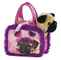 Aurora: Fancy Pal Pet Carrier – Pompom Pug
