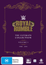 WWE: Royal Rumble Ultimate Collection - Volume 1 (1988-2001) on DVD