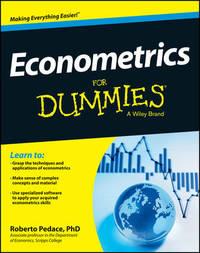 Econometrics For Dummies by Roberto Pedace