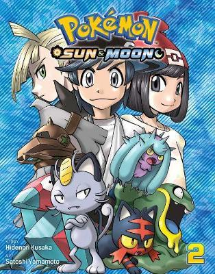 Pokemon: Sun & Moon, Vol. 2 by Hidenori Kusaka