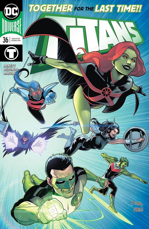 Titans #36 - (Cover A) by Dan Abnett