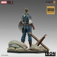 Marvel: 1/10 Captain America WWII (Deluxe) - Art Series Statue image