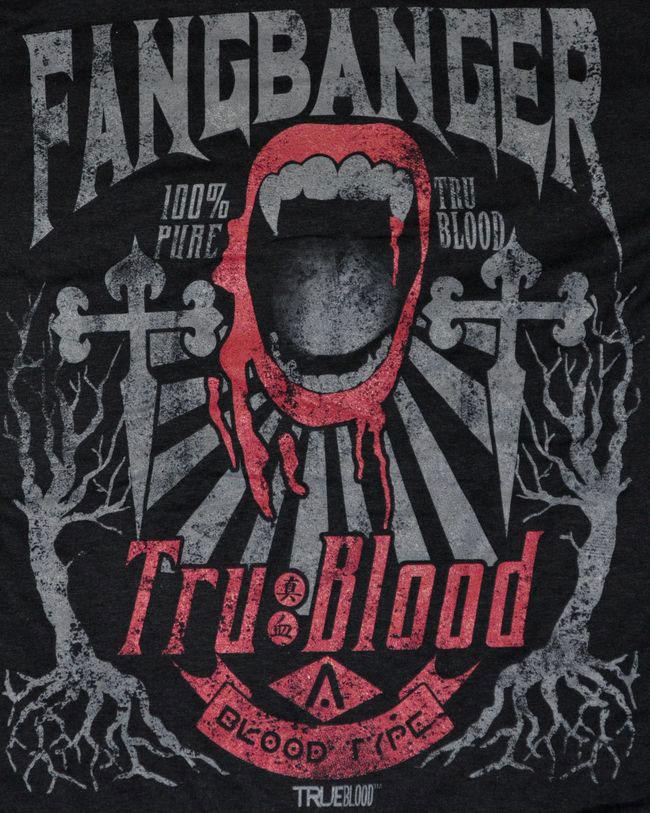 True Blood: Fangbanger T-Shirt - Small image