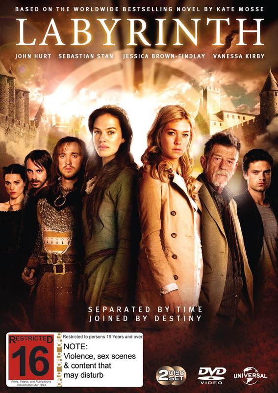 Labyrinth - The Mini-Series on DVD