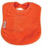 Silly Billyz Towel Large Bib (Orange)
