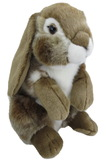 Nibbles Rabbit Brown - 24 cm