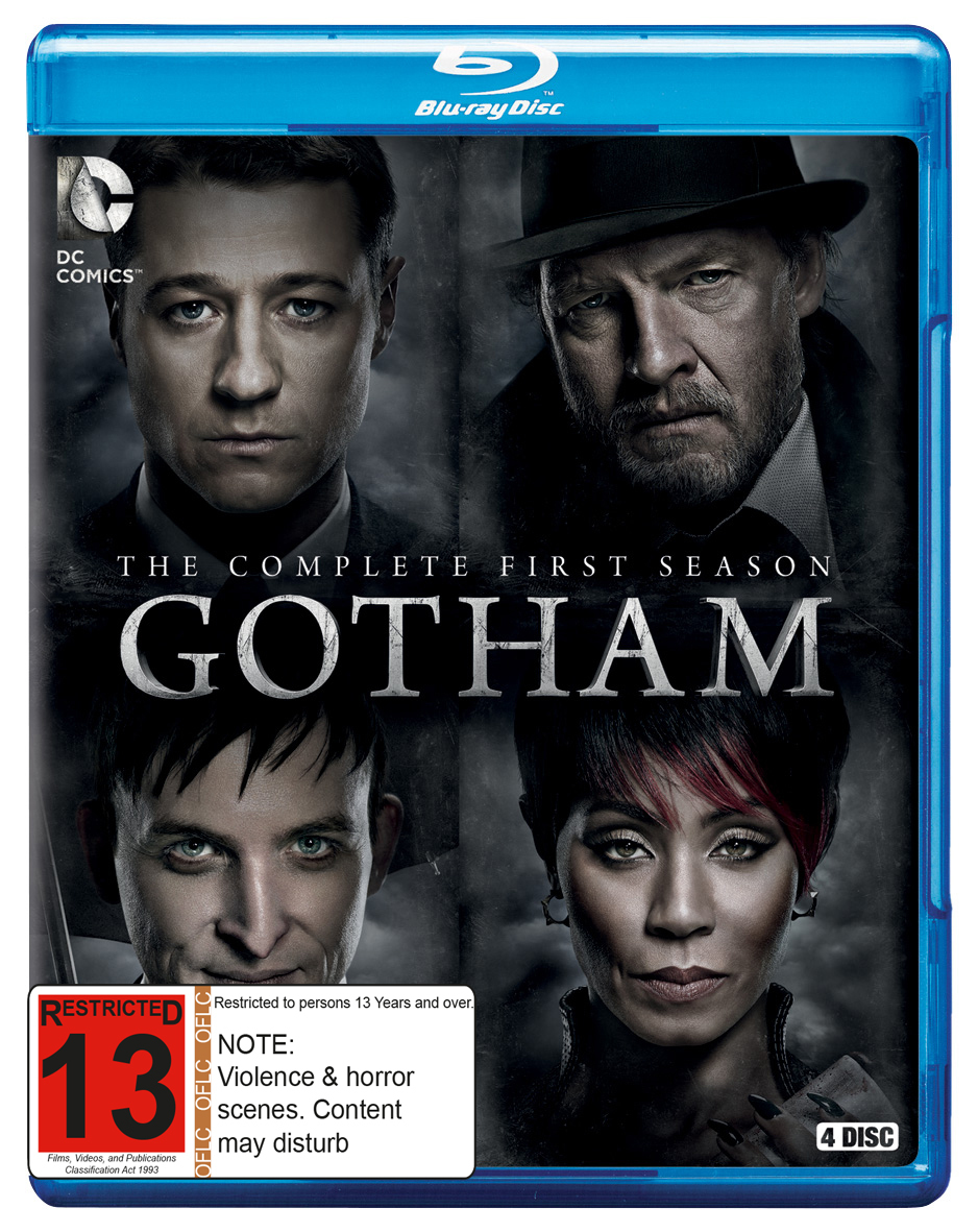 Gotham - The Complete First Season on Blu-ray image