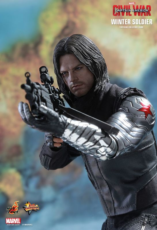 "Captain America 3 - Winter Soldier 12"" Figure"