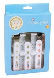 Peter Rabbit - 3pc Cutlery Set