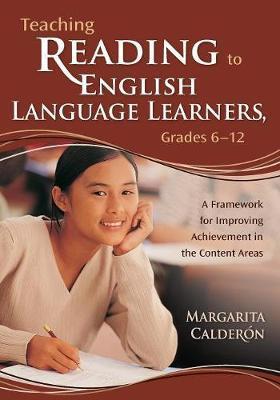 Teaching Reading to English Language Learners, Grades 6-12 image