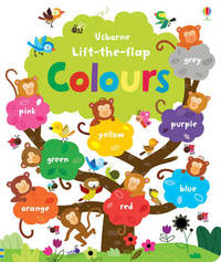 Lift the Flap Colours Book by Felicity Brooks