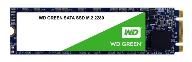 120GB WD Green 3D Nand - M.2 Internal SSD