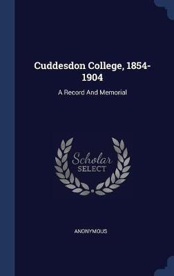 Cuddesdon College, 1854-1904 by * Anonymous image