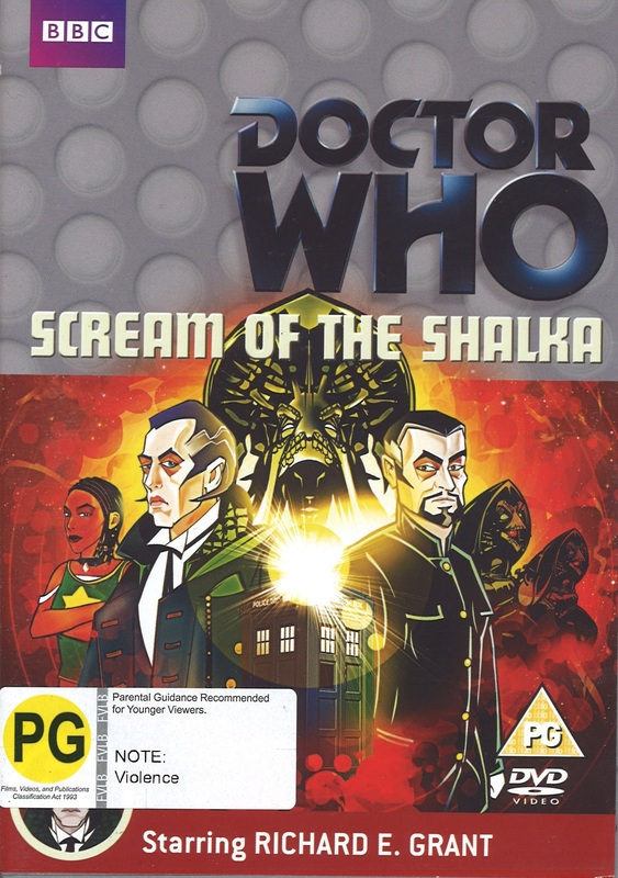 Doctor Who: Scream of the Shalka on DVD