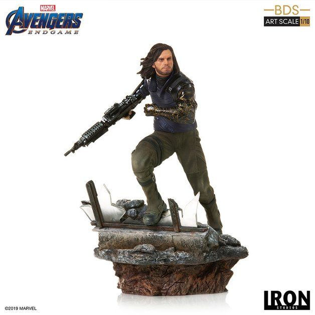 Avengers: Endgame - 1/10 Winter Soldier - Battle Diorama Statue