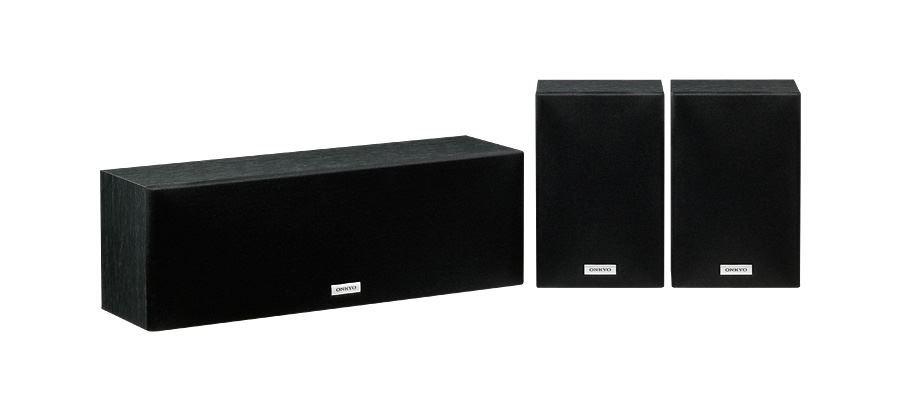 ONKYO Centre & Surround Speaker Package. 2-Way Bass Reflex Centre image