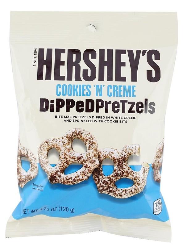 Hershey's Cookies N Creme Dipped Pretzels 120g