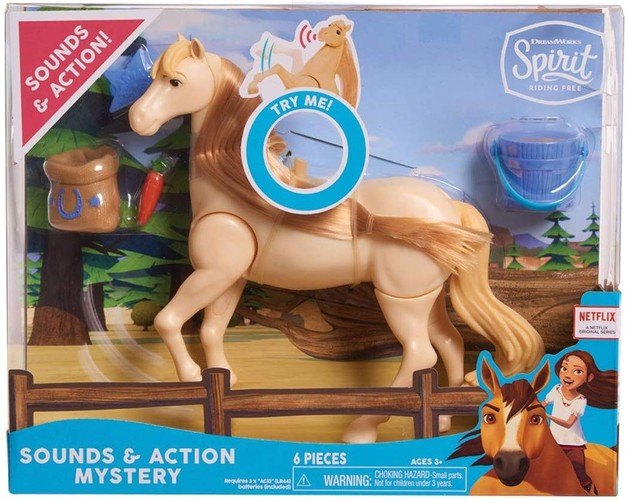 Spirit: Riding Free - Sound & Action Horse (Mystery)