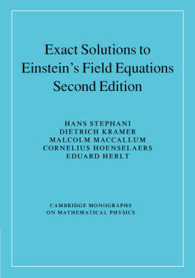 Exact Solutions of Einstein's Field Equations by Hans Stephani image