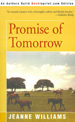 Promise of Tomorrow by Jeanne Williams image