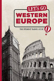 Let's Go Western Europe: The Student Travel Guide by Harvard Student Agencies, Inc. image