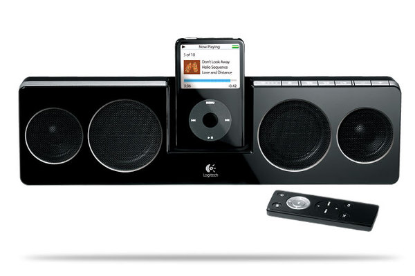 Pure-Fi Anywhere Compact Speakers for iPod image