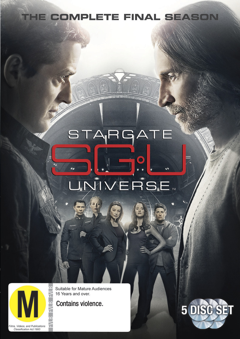 Stargate Universe - Season 2 on DVD image