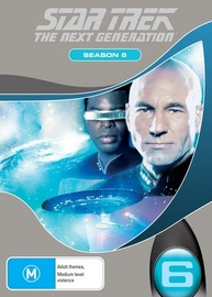Star Trek: The Next Generation - Season 6 on DVD