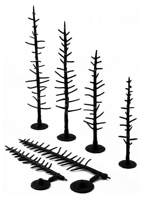 Woodland Scenics Pine Tree Armatures (44 pack) image