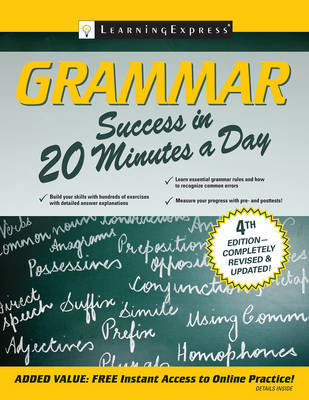 Grammar Success in 20 Minutes a Day by LearningExpress LLC Editors