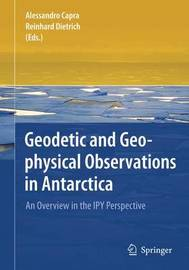 Geodetic and Geophysical Observations in Antarctica
