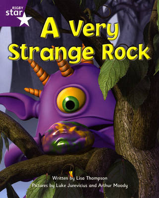Fantastic Forest Purple Level Fiction: A Very Strange Rock by Lisa Thompson image
