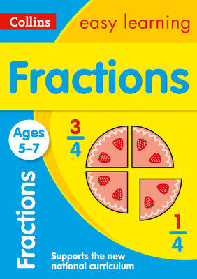 Fractions Ages 5-7 by Collins Easy Learning image