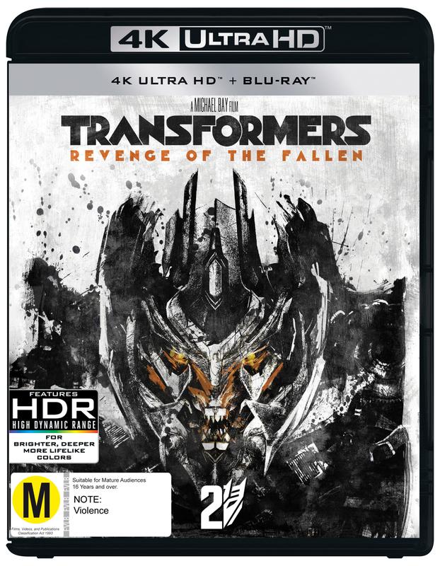 Transformers: Revenge Of The Fallen on UHD Blu-ray